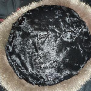 Real Russian fur hat